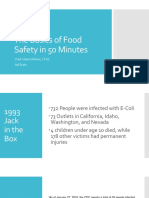 Lesson Plan Food Safety