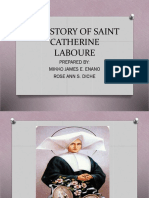 The Story of Saint Catherine Laboure