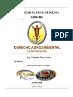 La Expropiación Agroambiental
