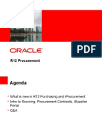 Procurement Enhancements - Oracle