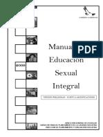 Manual de Educacion Sexual Inte - Gobierno de Mendoza