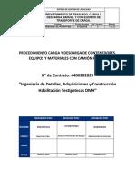 PIEM-20001-EL-PO-RVF-005 Rev 4 Procedimiento de Traslado, Carga y Descarga Manual y Con Equipos de Transporte de Carga