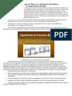 Experimento Redi y Pasteur v Scribd