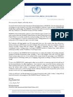 Secretary General Letter