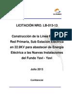 Bases_Construccion Linea MT