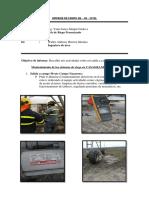 INFORME de CAMPO 06-09-2019 Mantenimiento de Los Sistemas de Riego