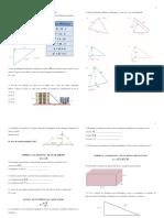 Revisão de Matemática