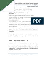 ESPECIFICACIONES TECNICAS ADMINISTRACION