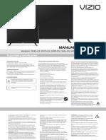 Manual de smart tv vizio D24h-G9