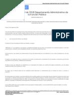 Concepto Marco 09 de 2018 Departamento Administrativo de La Función Pública