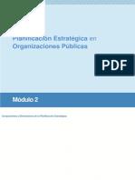 02-Curso Planificación Estratégica en Las Organizaciones Públicas - Módulo 2 - Dimensiones y Componentes de La Planificacion Estrategica