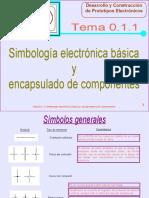 Simbología Electrónica Básica y Encapsulado de Componentes