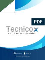Brochure Tecnicox