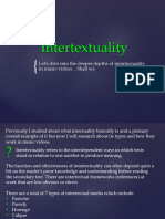 Inter Text Uality