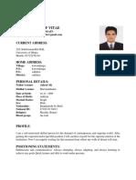 CV of  IMRAN (1)