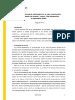 SERGIO DE PIERO - Las Organizaciones de la Sociedad civil en un nuevo contexto político Trabajo presentado en el marco del 1º Encuentro Virtual Latinoamericano de Emprendedores Sociales