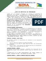 CONTRATO DE SERVICIOS PARA ASISTENTE TÉCNICO DE OBRA