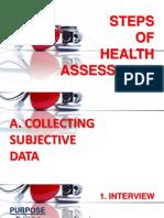 health assessment powerpoint
