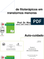 FITOTERAPIA EM TRANSTORNOS MENORES