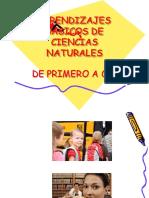 Aprendizajes Basicos Ciencias Naturales en Diapositivas San Fernando 2017