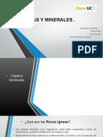 Tipos de Rocas y Minerales_daniel Piña_jaime Fernandez_felipe Herrera