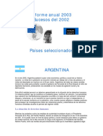 Informe2003HRW varios paises