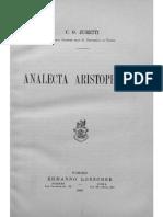 Analecta Aristophanea