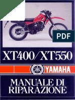 Yamaha Xt 400 Xt 550 - Manuale Per Officina Italiano.pdf