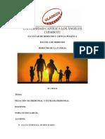 Filiación Matrimonial y Extramatrimonial Derecho Familia 1 2957