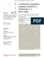 A Performance Degradation Evaluation Method for a