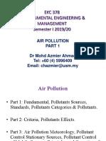 Air Pollution Part 1