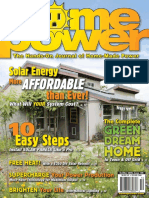 Home Power Solar Energy costs