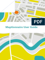 Maptionnaire User Guide