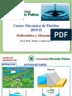 Cap N° 02-Hidrostática y Manómetros