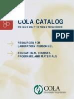 COLA Product Catalog