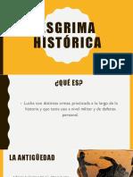 Esgrima Histórica
