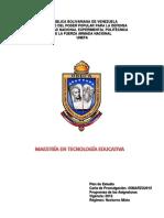 Programa Maestría Tecnología Educativa
