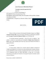 Decisão Recurso Interno - RCL Janot