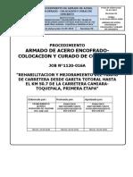 08 Procedimiento Acero-Encofrado-colocacion y Curado de Concreto Rev 0