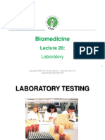 LABORATORY TERMS AND VALUES