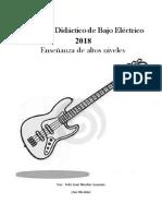 Programa Didáctico Bajo Eléctrico - Enseñanza de altos niveles - Por Joe Nicolas