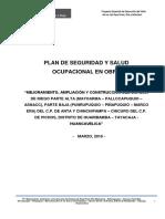 Plan de Seguridad en Obra- Huaribamba
