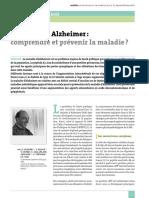 Nutrition Et Alzheimer