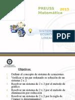 Clase 12 (Sistemas de Ecuaciones)