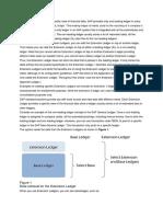 Extenstion Ledger Process and Configuration