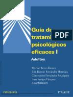 Guía de Tratamientos Psicológicos Eficaces I Adult... ---- (Intro)