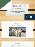 Historia de la Ingeniería Griega