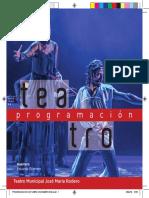Programacion Teatro José María Rodero de Torrejón