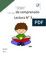 Taller Comprensión Lectora