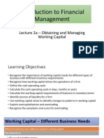 Working Capital Lecture 2a_Student Version